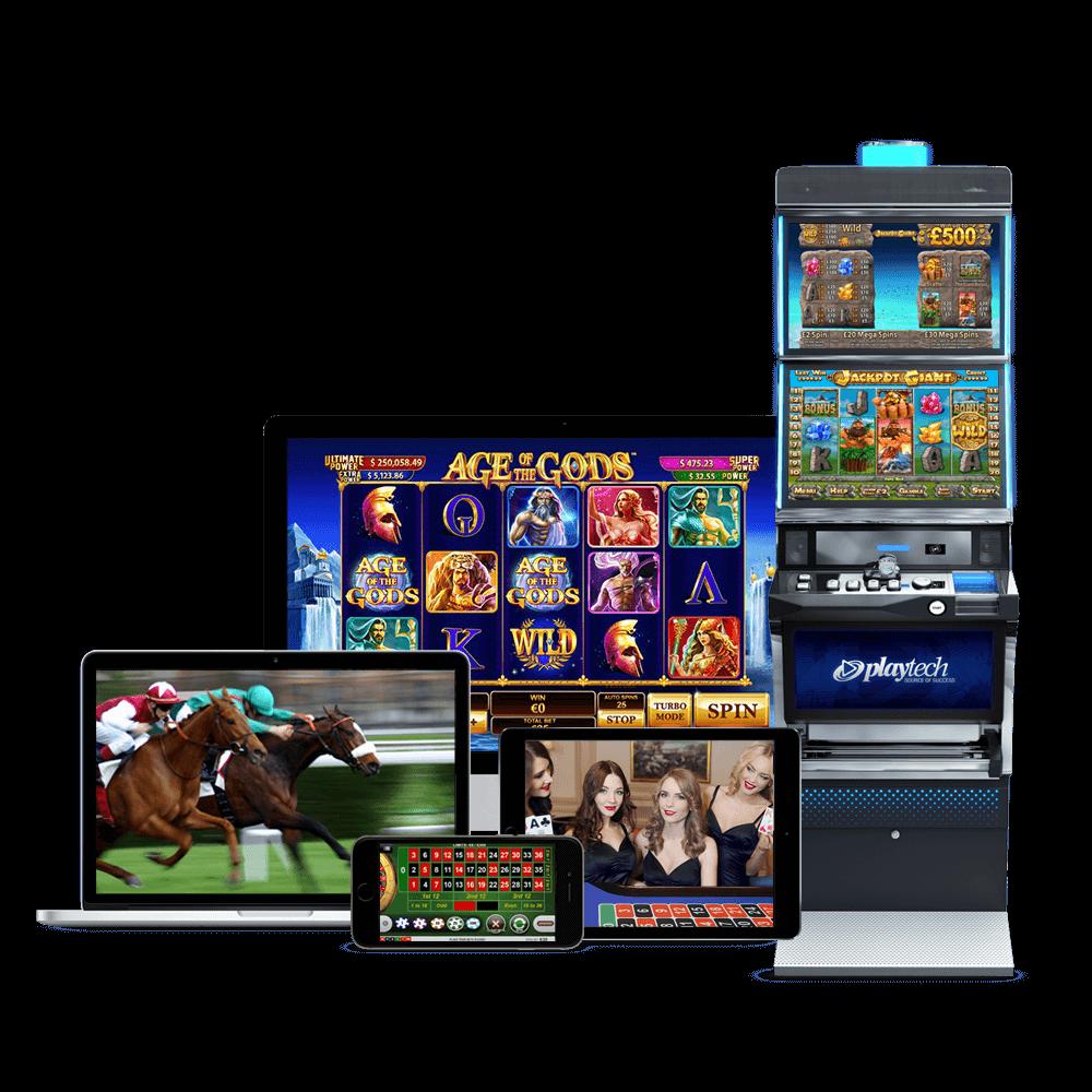 berbagai produk game dari Playtech