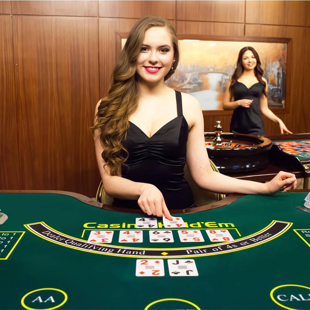 Online live casino holdem