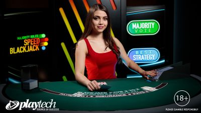 Playtech Live launches Majority Rules Speed Blackjack