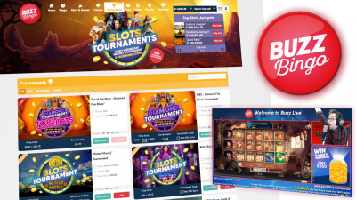 Buzz Bingo and Playtech partner to launch slot Tournaments