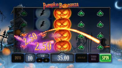 Playtech's Pumpkin Bonanza: Halloween-themed slot and Live games