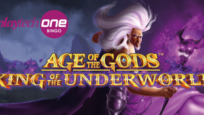 King of the Underworld brings Age of the Gods™ to Bingo