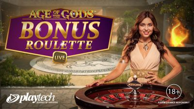 Playtech launches Age of the Gods Bonus Live Roulette network-wide