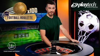 Playtech relaunches Live Football Roulette in new Let's Play studio