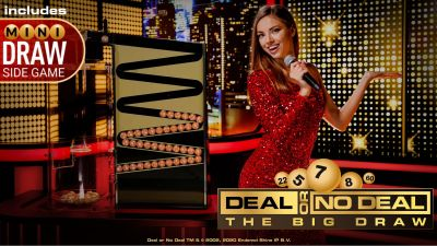 Playtech launches Live Deal or No Deal - The Big Draw