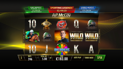 AP McCoy brings Playtech Power Play™ to Sporting Legends series
