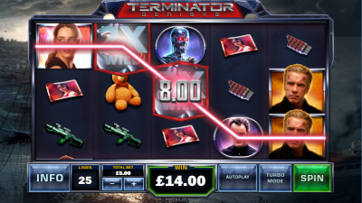 Terminator Genisys joins Playtech's  A-List slot game selection
