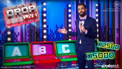 Playtech Live launches The Money Drop Live gameshow