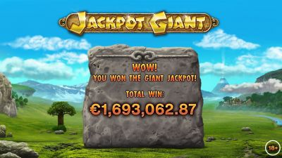 Playtech's Jackpot Giant pays out