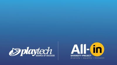 Playtech joins forces with All-in Diversity Project as part of its sustainability strategy