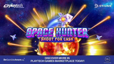 Playtech launches Space Hunter™: the first certified shooter game for the UK market