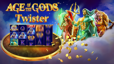 Age of the Gods™ conquers poker with new Twister game