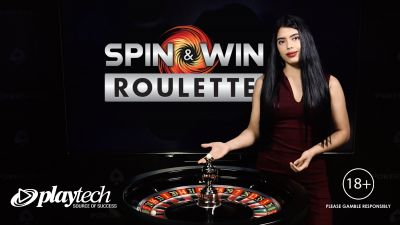 Playtech and Pokerstars Casino launch Spin & Win Live Roulette in Spain